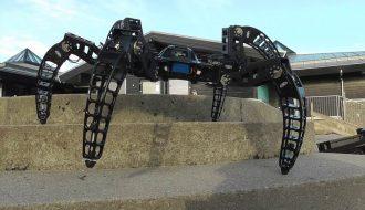 Meet Spider inspired Robot called MX-Phoenix hexapod.