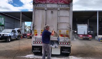 Clean your Trucks and Vehicles using this cleaner easily