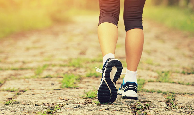 Daily walk can reduce risks of early death.
