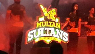 PSL Team Multan Sultans logo and playing kit revealed.