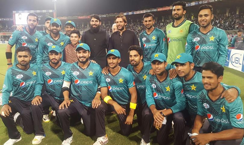 Pakistan Won #IndependenceCup Series by 33 runs - #PakVsWorldXI