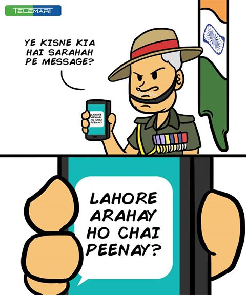 Pakistani Social Media teases Indian Army