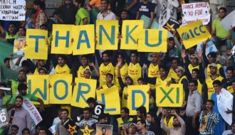 Some great shots from #Pakistan VS #WorldXI Series