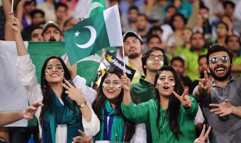 Some memorable clicks from #WorldXI vs #Pakistan Series in Gaddafi Stadium