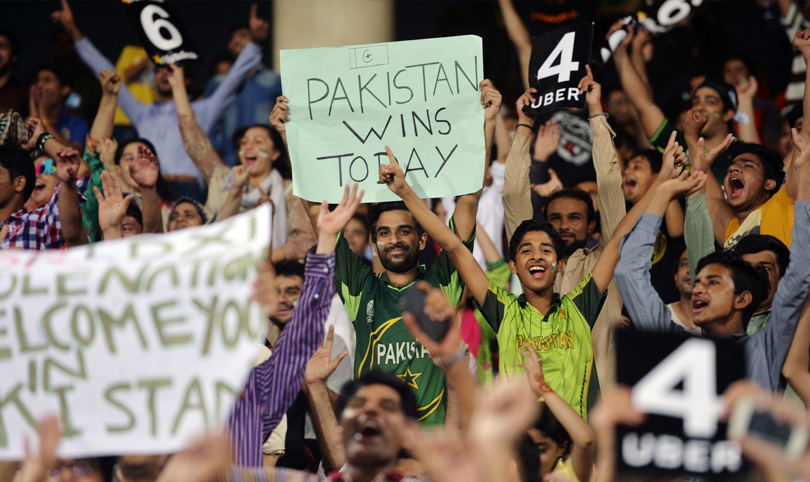 Pakistan won the cricket came back in home ground today