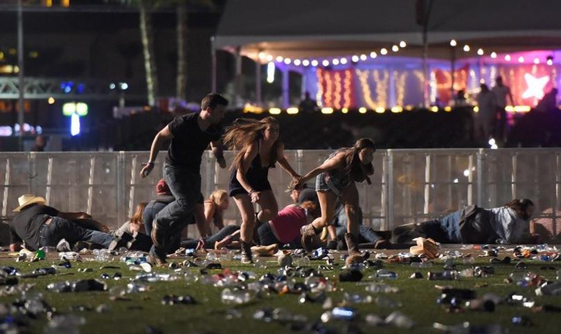 Atleast two dead in Las Vegas, Mandalay Bay Casino.