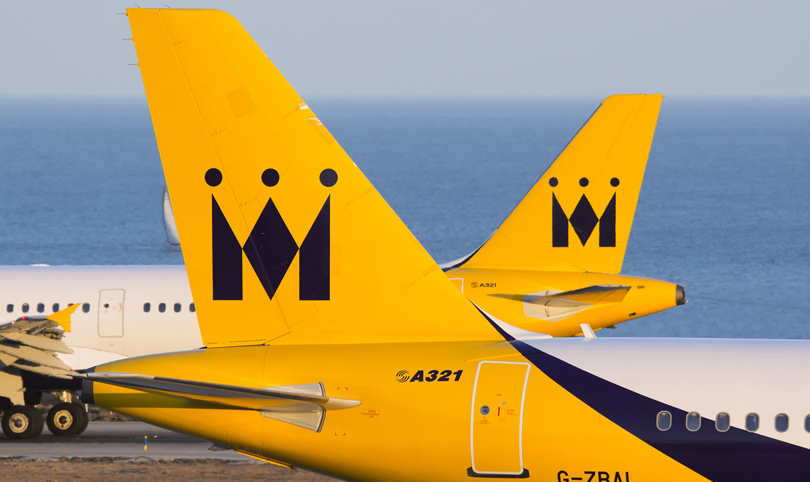 Monarch airlines busted, as a result 300,000 bookings are cancelled.