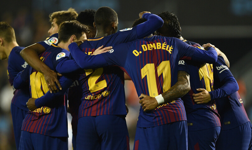 Unbeaten Barcelona set another record in La Liga league history