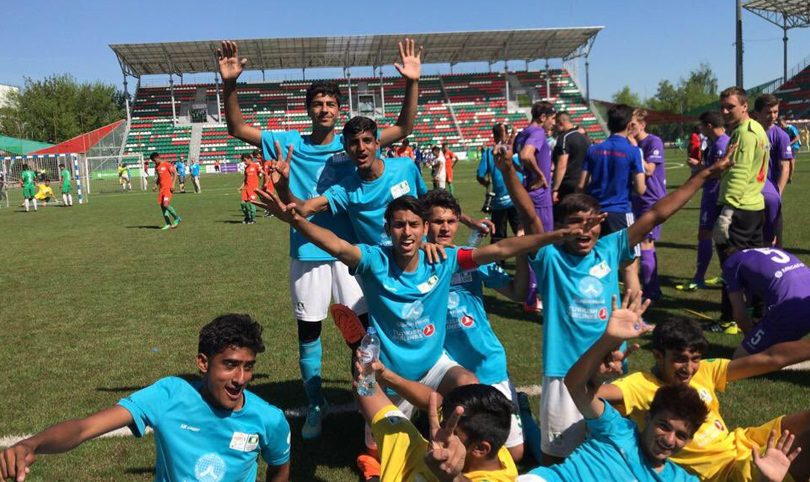 Pakistan Football team reached Street Child Football world cup 2018