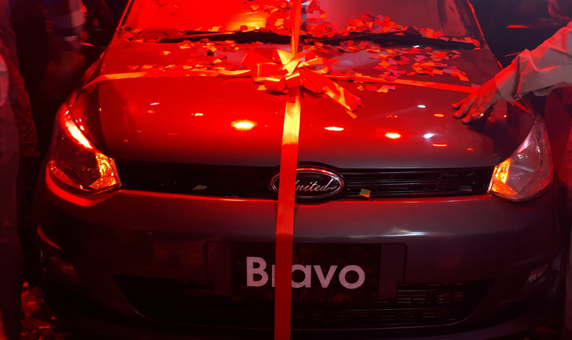 United Launches its cheapest car 'Bravo' for Pakistani Market