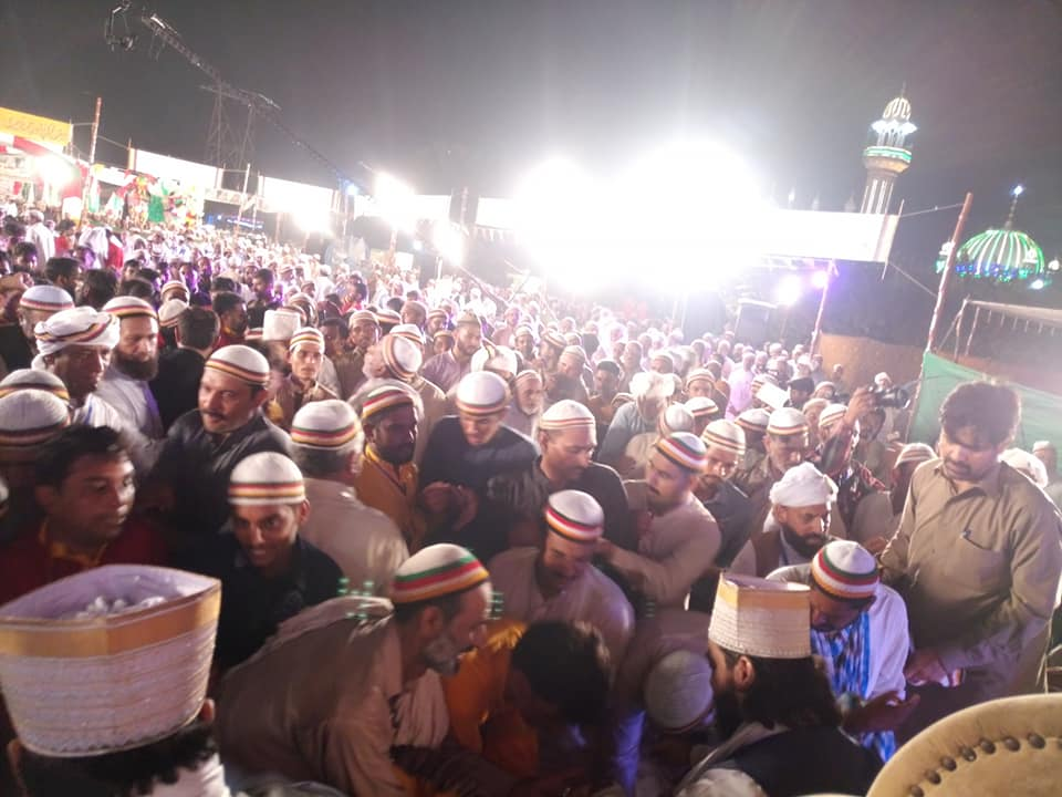 Thousands of devotees and followers from all over the world paid a visit to pay tribute to the great Sufi saint.